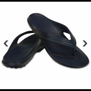 Crocs Classic Flip Flop Navy Women's Size 11